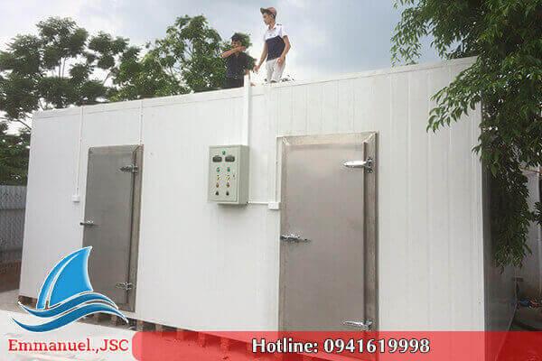 Emmanuel thực hiện lắp đặt kho lạnh trữ đông bảo quản thủy sản tại Nam Định