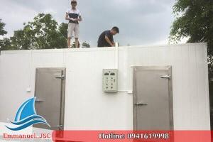 Emmanuel lắp đặt kho lạnh bảo quản thủy sản hải sản tại Nam Định