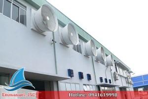 Dự án thông gió tại khu công nghiệp Đồng Văn - Hà Nam