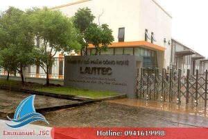 Dự án thông gió công nghiệp nhà máy LAVITEC khu công nghiệp Khai Quang - Vĩnh Phúc
